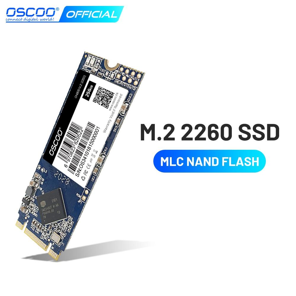 Твердотельный накопитель OSCOO высочайшего качества M2 SSD 240 ГБ 256 ГБ Размер 2260 SSD M.2 SATA HDD M2 NGFF твердотельный накопитель Жесткий диск для компьюте...
