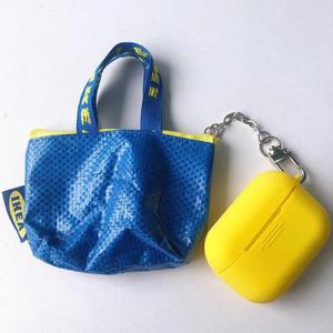 Image 5 - หรูหราน่ารักมินิเหรียญกระเป๋าสตางค์ป้องกันหูฟังซิลิโคนสำหรับAirpodsชุดหูฟังไร้สายบลูทูธกระเป๋ากล่อง