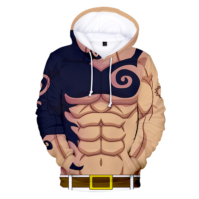 3D THE SEVEN DEADLY SINS HOODIE (5 VARIAN)