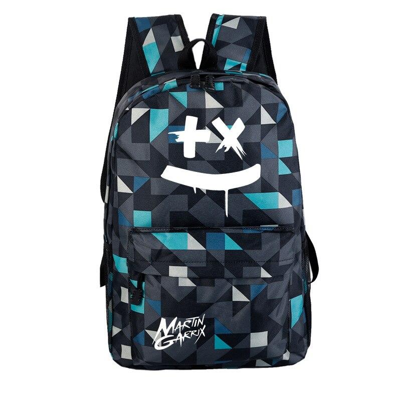 Backpack Generation School-Bag Marshmello Cross-Border Candy Music Customization Electronic