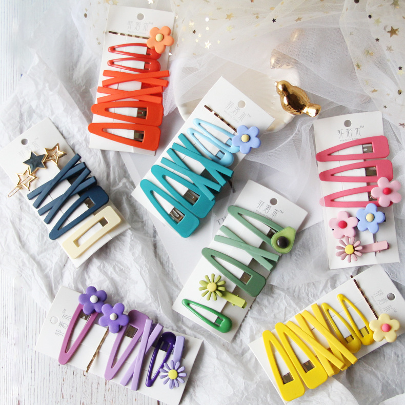6-pcs-sets-cute-fruit-bb-clips-hairpins-girls-hair-accessories-children-headwear-baby-hair-clips-headdress-cartoon-pin-flower
