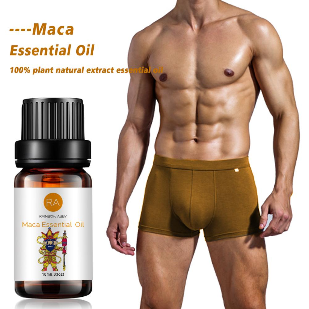 Maca Supplement Maca Male Herbal Big Dick Essential Oil for Men To Increase Cock Growth Fast Viagra Massage Oil 10ml Enlargement image