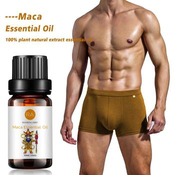Maca Supplement Maca Male Herbal Big Dick Essential Oil for Men To Increase Cock Growth Fast Viagra Massage Oil 10ml Enlargement
