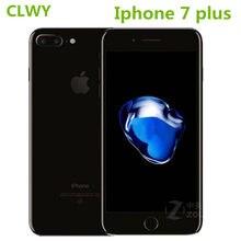 Original apple iphone 7 plus usado 3gb ram 32/128gb/256gb rom ios 4g lte desbloqueado telefone de impressão digitale cel