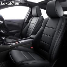 Kokololee niestandardowe skórzane siedzenia samochodu pokrowce do bmw serii 3 4 E46 E90 E91 E92 E93 F30 F31 F34 F35 G20 G21 F32 F33 F36 fotele samochodów tanie tanio Cztery pory roku Sztuczna skóra 60cm 70cm Pokrowce i podpory 5 8kg Podstawową Funkcją Wodoodporne Przechowywanie i Tidying