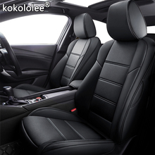 Kokololee niestandardowe skórzane siedzenia samochodu pokrowce do bmw serii 3/4 E46 E90 E91 E92 E93 F30 F31 F34 F35 G20 G21 F32 F33 F36 fotele samochodów