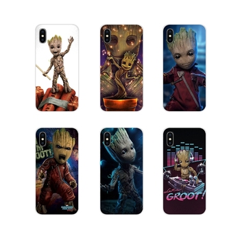 Guardians of the for Galaxy Marvel Silicone Phone Cases Cover For Samsung Galaxy A3 A5 A7 A9 A8 Star A6 Plus 2018 2015 2016 2017 image