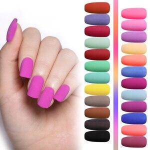 Image 5 - ชุดด้านจุ่มลงในเล็บผงสีชมพูไล่ระดับสีโครเมียมฝรั่งเศสสีธรรมชาติแห้งเร็วไม่แข็งตัว