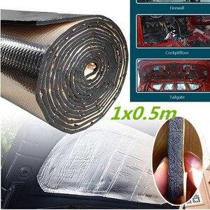 7mm 500x1000mm Mat Wool Sound Deadening Mat Car Firewall Sound Deadener Heat Shield Insulation Noise Insulator Deadening Pad