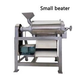 220 V/380 V 50 120 kg/h mieszania ubijaka dżem maszyna do automatyczne owoce berry ziarna pojedynczego kanału brzoskwinia peeling jądrowej trzepak w Roboty kuchenne od AGD na