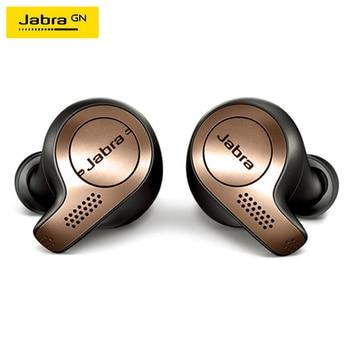 Jabra Elite 65t-auriculares TWS, inalámbricos por Bluetooth 5,0, Auriculares deportivos resistentes al agua con micrófono y cancelación de ruido