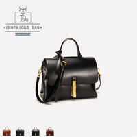 Women Handbags Vintage Messenger Bags Leather Ladies Designer Luxury Shoulder Bags Female Crossbody Top Handle Bag High Quality