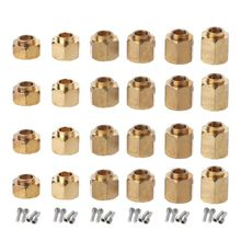 4pcs 6/8/9/10/11/12MM Heavier Brass Wheel Hex Extended Adapter for RC Crawler TRX4 TRX-4 Accessories