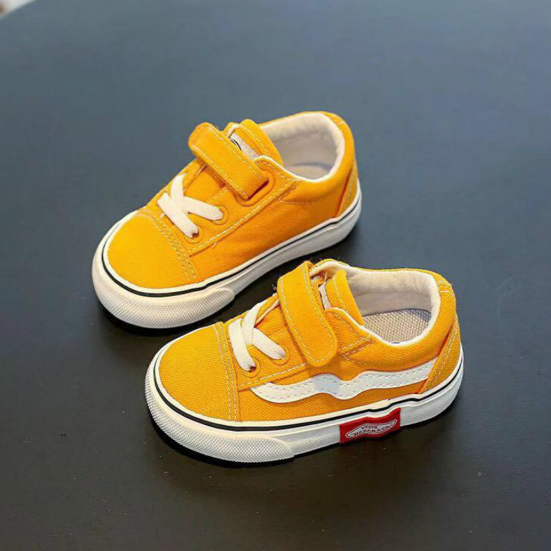 Baby Shoes Children Canvas Shoes 1-3 Years Old Soft-soled Boys Shoes Baby Girls Sports Toddler Shoes Casual Shoes Kids Sneakers