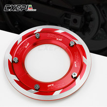 Lastest Product For yamaha TMAX 530 t-max 530 tmax530 sx dx 2017 2018 2019 CNC Aluminum Transmission Belt Pulley Cover