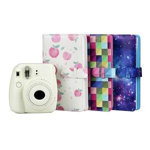 Image 2 - Gosear Mode PU Leder Foto Film Album für Fujifilm Instax Mini 8 9 7S 7C 25 70 90 3 zoll Papier Mini Filme 96 Tasche