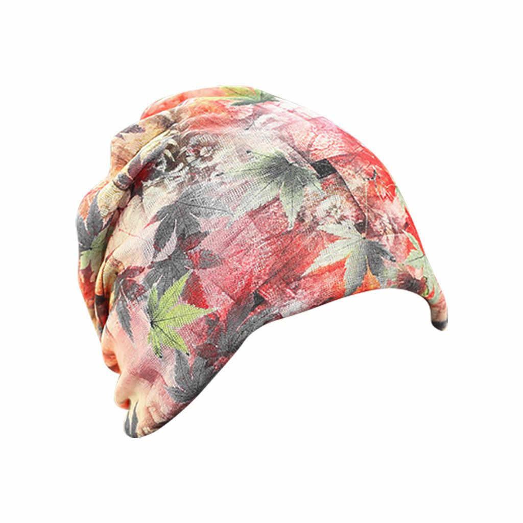 Mulheres índia muçulmano elástico chapéu rendas impressão de cabelo perda cabeça cachecol envoltório grávida casual multifuncional respirável tule yoga boné