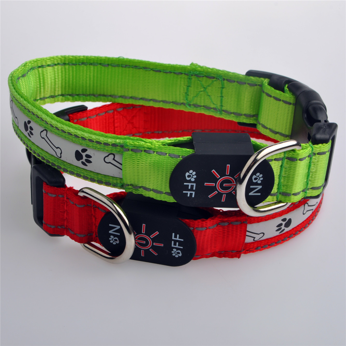 New Style USB Charging LED Glowing Dog Collar Dog Supplies Hand Holding Rope Pet Collar