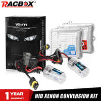RACBOX AC 55W démarrage rapide/Ballast Canbus HID xénon Kit de phares de Conversion 12V H1 H3 H7 H11 9005 HB3 9006 HB4 4300K 6000K 8000K
