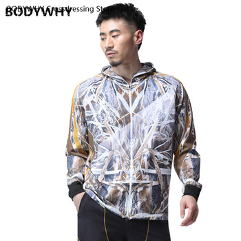 Summer Sunscreen Outdoor fishing Clothing Leaves Camouflage Bionic Quick-Drying Breathable