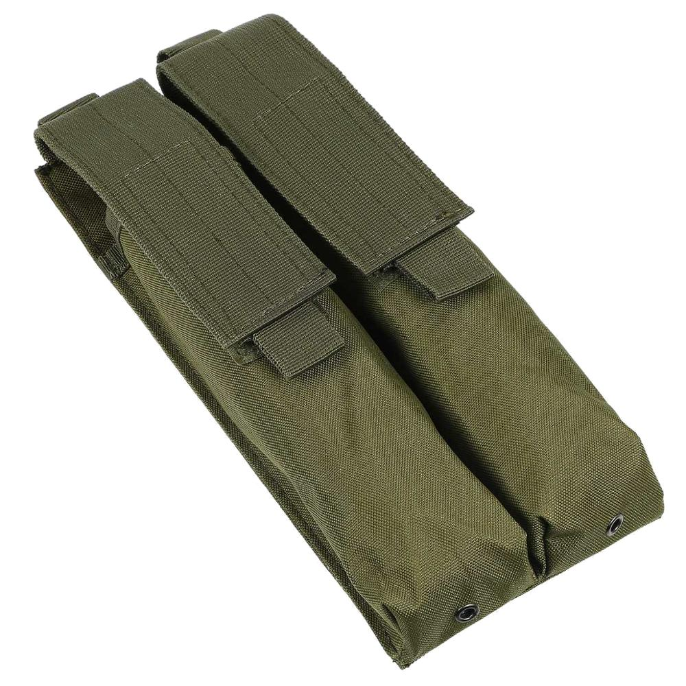 US Tactical Molle Double Magazine Pouch Holster Pistol Mag Holder for Hunting