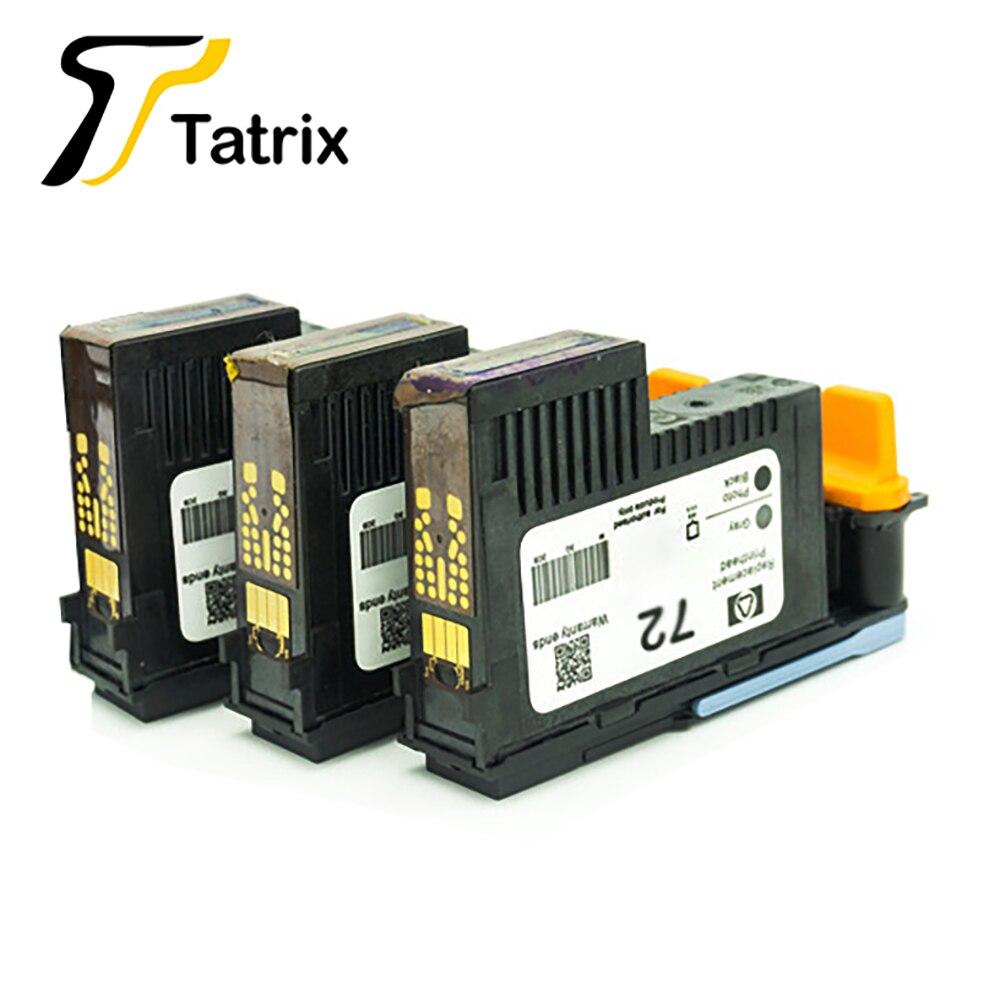 Tatrix Per HP 72 HP-72 HP72 Rigenerate Testina di Stampa Per HP DesignJet T2300 T610 T620 T770 T790 T1100 t1120 T1200 stampante.