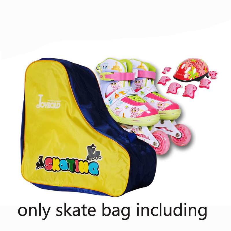 Lovely Boy Kids Girl Inline Roller Skate Shoes Bag Portable Ski Snow Boots Carry Bag Shoulder Bag Big Capacity Gift Waterproof