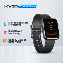 Ticwatch GTH Fitness Smartwatch Männer/Frauen Monitor Haut Temperatur Sauerstoff Schlaf Tracking Wasserdicht Schwimmen Sport Uhr Mobvoi