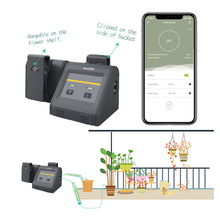 Wifi Indoor Micro-drip Irrigation System Water Timer With Pump Irrigation Controller Tuya/Smart Life APP Controlled Smart Home