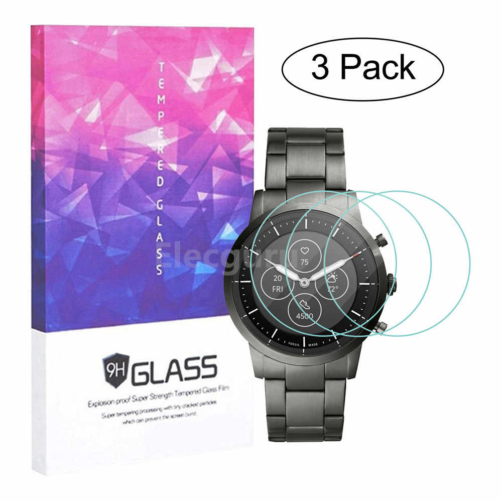Not Tempered Glass Synvy Screen Protector for Fossil ME1162 TPU Flexible HD Clear Film Protective Protectors 3 Pack