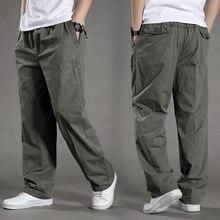 men Harem tactica Pants brand 2020 summer Sagging cotton pants men Trousers plus size sporting Pant Mens Joggers Feet pantsL 6XL