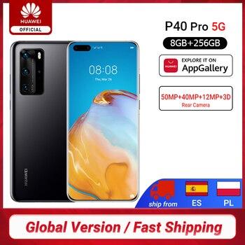 Купить дюймSVETLO3000дюйм-over 507$ off 42$,Глобальная версия Huawei P40 Pro 8G 256G Kirin 990 5G восьмиядерный смартфон с тройной камерой 6,58 ''экран SuperCharge 40W