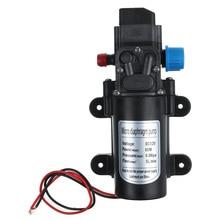 DC 12V 60W Micro Elektrische Membran Wasserpumpe Automatische Schalter 5L/min Hochdruck Auto Waschen Spray wasser Pumpe 0,8 Mpa 5L/min