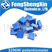 10pcs 3296 3296W Trimpot Trimmer Potentiometer 50 100 200 500 ohm 1K 2K 5K 10K 20K 50K 100K 200K 500K 1M ohm 103 100R 200R 500R(China)
