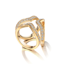 New Arrival High Quality Zircon Pave Gold or White Gold Color Plated Scarf Buckles