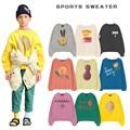 Детская толстовка; Новинка 2020 года; Осенние футболки для мальчиков; Одежда для маленьких девочек; Мягкая хлопковая Футболка с изображением ...