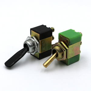 DC 12V 15A ON-OFF-ON 3 Positions Ways 3 Terminals Toggle Switch JK812-1 copper/plastic handle(China)