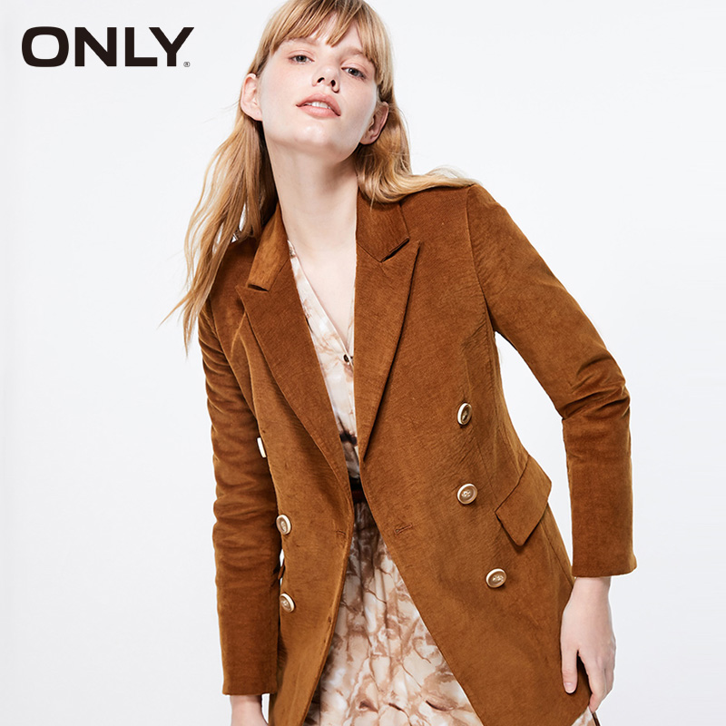 ONLY Womens Corduroy Suit Blazer Jacket| 119308538