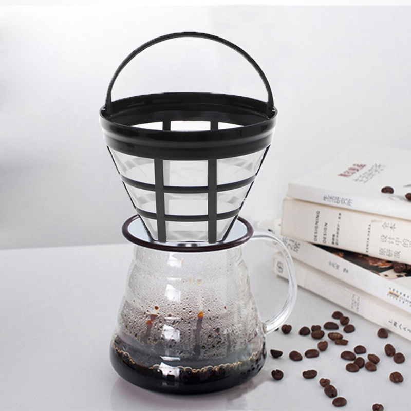 Replacement Coffee Filter Reusable Refillable Basket Cup Style Brewer Tools Accessories