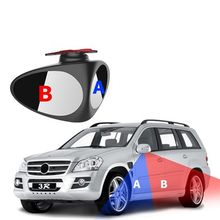 Car Rear View Mirror 360 Degree Rotatable Adjustable Blind Spot Mirror Convex Wide Angle Mirror front wheel Car mirror 2 Colors fold car silver bonnet rear mirror exterior hoods covers blind wide angle rear side mirror rear glass for all cars universal