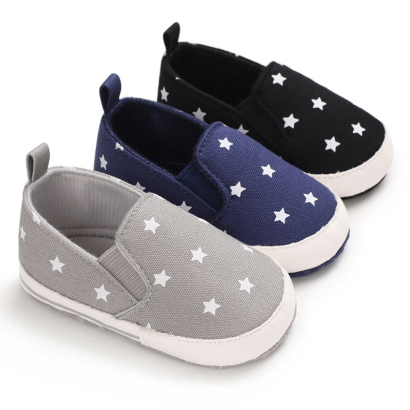 Newborn Baby Cute Boys Girls Canvas Star First Walkers Soft Sole Shoes Baby Girl Shoes Toddler Shoes Infant Girl Shoes
