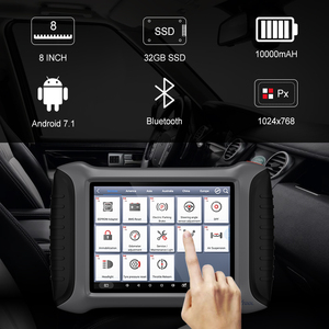 Image 5 - XTOOL A80 Full System Car Diagnostic Tools Automotive OBD2 Code Reader XTOOL H6 Diagnostic scanner lifetime Free Update Online