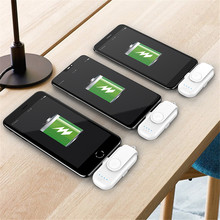 Magnetic Mobile Power 1000 mAh Small Magnet Charger for iPhone Mobile Power 18650 for iPhone Millet / LG
