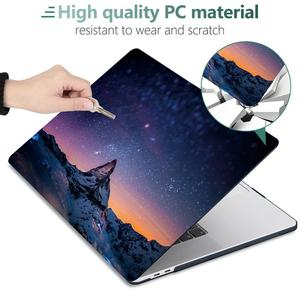 Image 5 - Drukuj Crystal Clear Hard Case do 2017 2018 2019 2020 nowy Macbook Pro Retina 13 15 A1706 A1989 Touch Bar Cover Air 11 13.3 cala