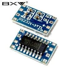 100pcs MCU Mini RS232 to TTL Converter Adapter Board Module MAX3232 3-5 V Electronic