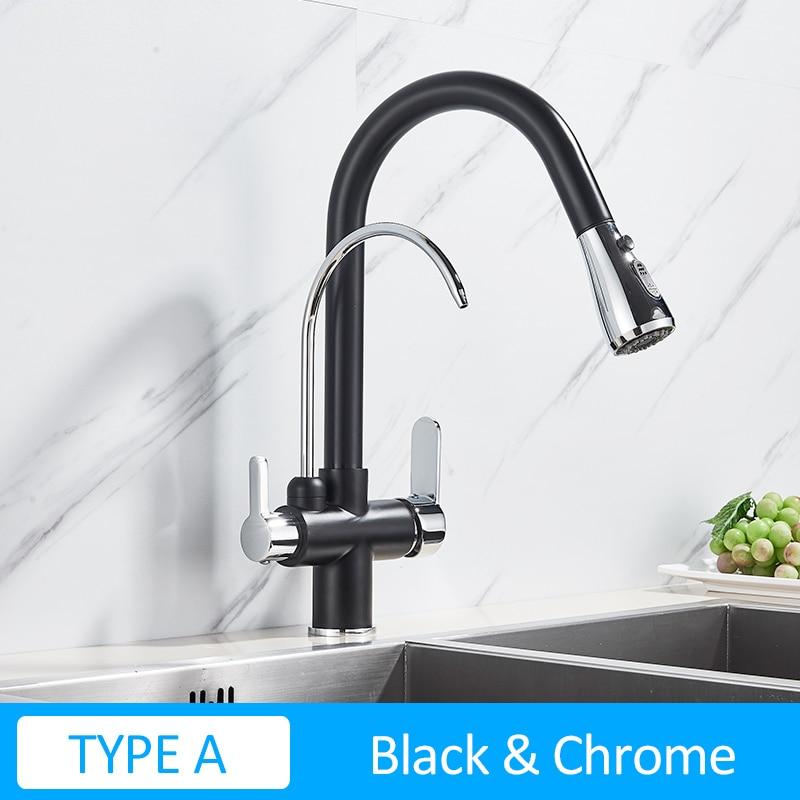 TYPE A-Black Chrome