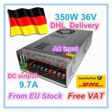 EU ship/free VAT 350W 36V Switch DC Power Supply for CNC Router Single Output 350W 36V Foaming Mill Cut Laser Engraver Plasma