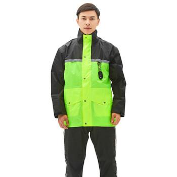 Nowy nieprzepuszczalny wodoodporny płaszcz przeciwdeszczowy kobieta mężczyzna sprzęt przeciwdeszczowy motocykl kombinezon przeciwdeszczowy praca płaszcz przeciwdeszczowy grubsze Poncho mężczyźni Bb50 tanie i dobre opinie SAFEBET Odzież przeciwdeszczowa Single-osoby przeciwdeszczowa Poliester Dorosłych TOUR WOMEN Uniwersalny QA8116UP-1 Raincoat