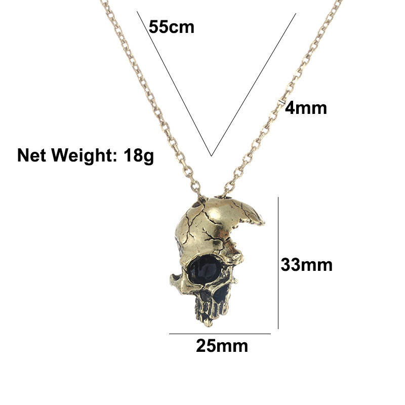 skull necklace pendant (9)