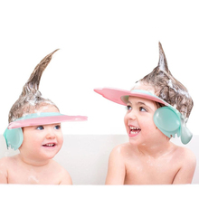 Adjustable Baby Shower Cap Shampoo Bath Wash Hair Shield Hat